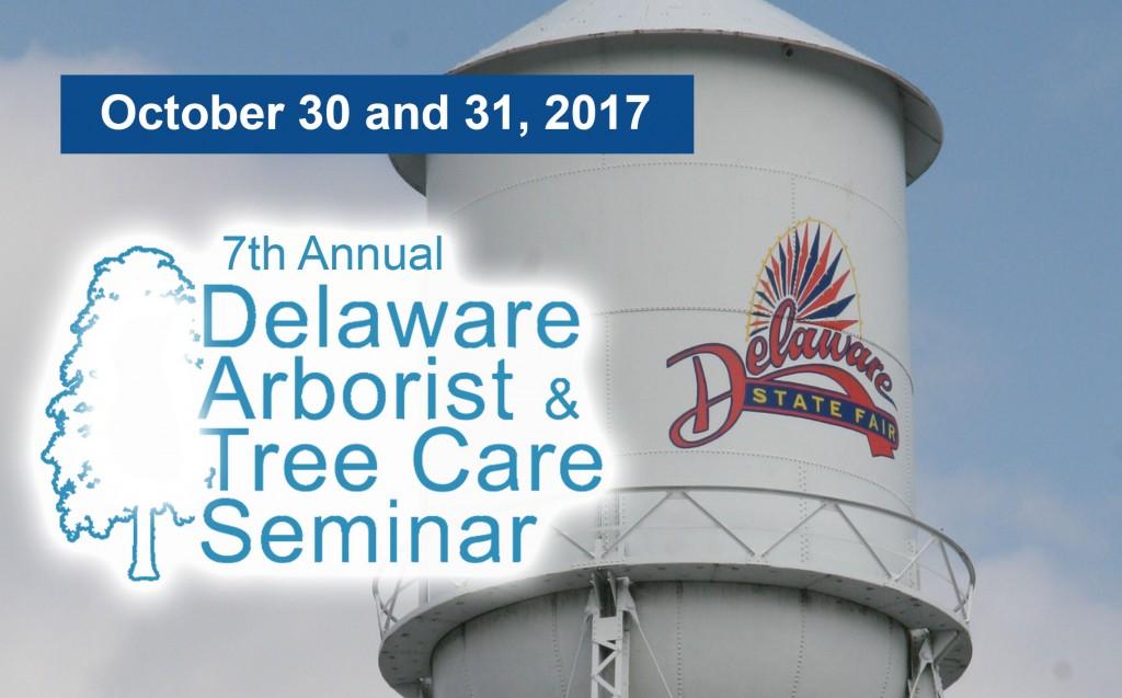 Arborist Delaware State Fair water tower
