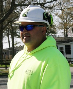 Jay Ashby is the Director of Operations for Cypress Tree Care and the vice-chair of teh Delaware Urban and Community Foresry Council. He is scheduled to demonstrate proper set-up and safety techniques for a tree removal at the 7th Annual Arborist & Tree Care Seminar in Harrington on October 30 and 31.